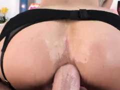 Striking peach unveils enormous booty and gets anal d95WMC